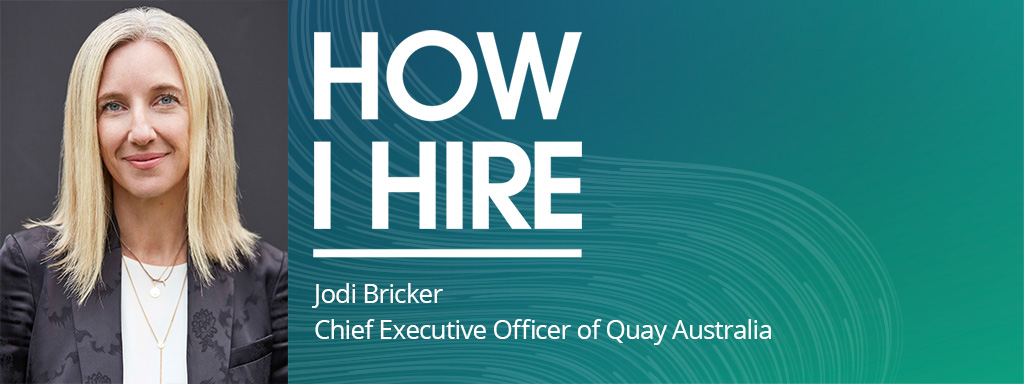 Jodi Bricker, CEO Quay Australia