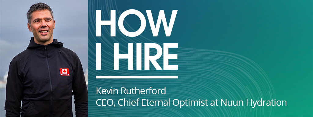 Kevin Rutherford CEO, Chief Eternal Optimist, at Nuun Hydration